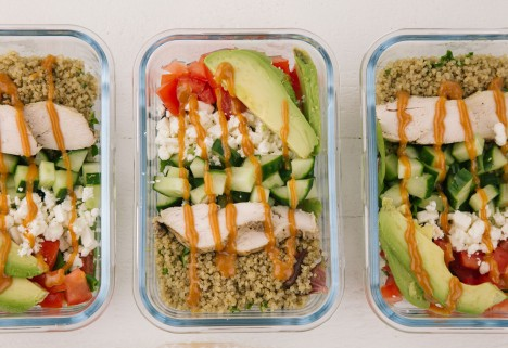 A Spicy Chicken Meal-Prep Recipe So Lunch Is on Fire All Week