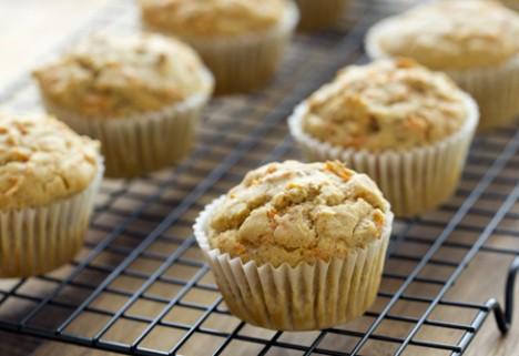 Gluten-Free Carrot-Tangerine Muffins
