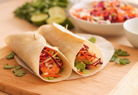Chipotle Shrimp Burritos