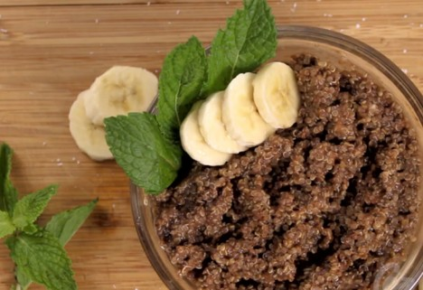 Eat Me Video: Chocolate Banana Quinoa Feature