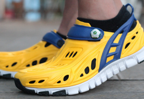 Like Crocs? Then Check Out the Crosskix Running Shoe