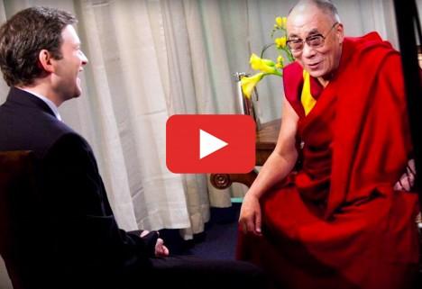 Dalai Lama Explains Why It's OK to Be Self-Centered