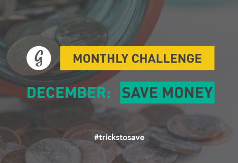 December Save Money Monthly Challenge