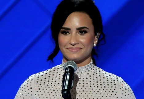 Demi Lovato Opens Up About Her Struggle With Mental Illness at the DNC