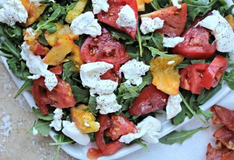 Easy Prosciutto Caprese Salad Recipe