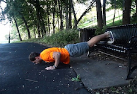 Greatist Workout of the Day: Elevated Push-Ups