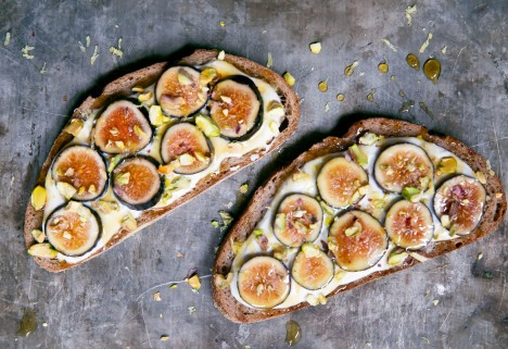 Fig and Honey Toast