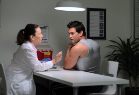 You're Probably Not Too Buff for a Flu Shot [Video]
