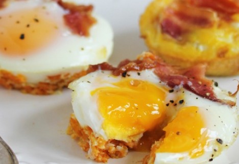 Freezer Ready Egg Muffins
