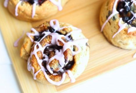 Gluten-Free Blueberry Cinnamon Rolls