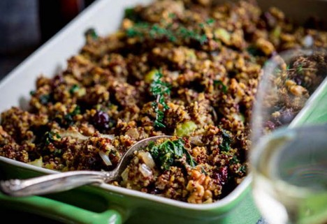 gluten free thanksgiving: feature