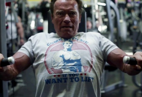 The 6 Things We Learned While Watching Arnold Schwarzenegger Work Out