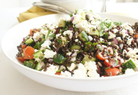 Greek-Style Lentil Salad Recipe