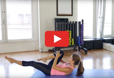 Pilates Workout: 30-Minute Sequence for Strong Tight Abs