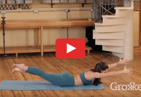 Yoga Video: A Flow That Works Your Legs and Butt