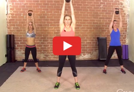 Total-Body Kettlebell HIIT Workout