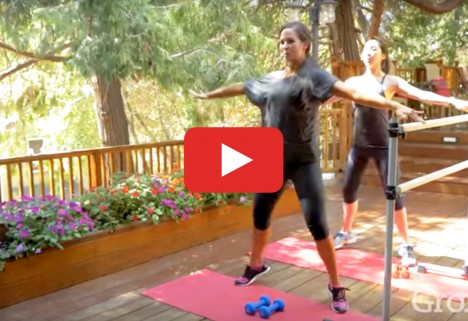 20-Minute At-Home Barre Workout