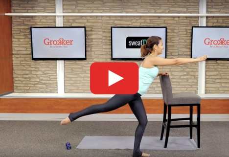 Abs Workout: Barre for Core and Butt