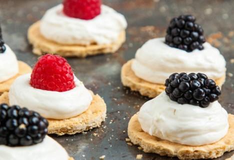 Recipe: Healthier No-Bake Cheesecake Bites