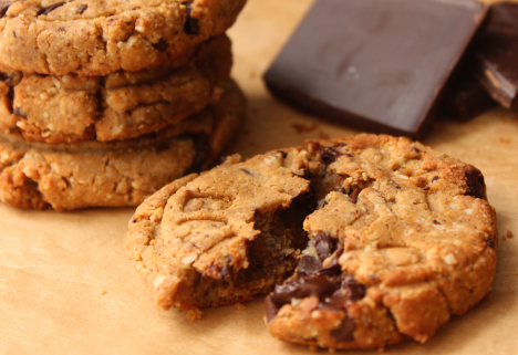 Recipe: Dark Chocolate and Almond Protein Cookies