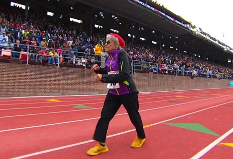 Running Motivation: 100-Year-Old Breaks World Record Again