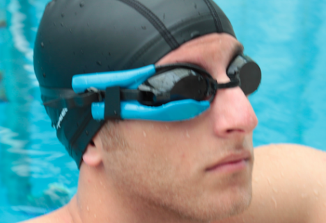 A Waterproof Fitness Tracker Brings Fitness to the Pool
