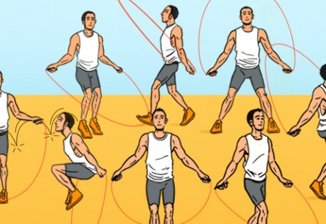 Work Up a Sweat in No Time with a Jump Rope Routine