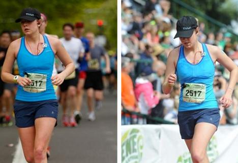 Laura Marathon Running