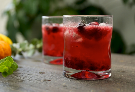 A Bangin' Bourbon Cocktail That Puts Leftover Cranberry Sauce to Good Use