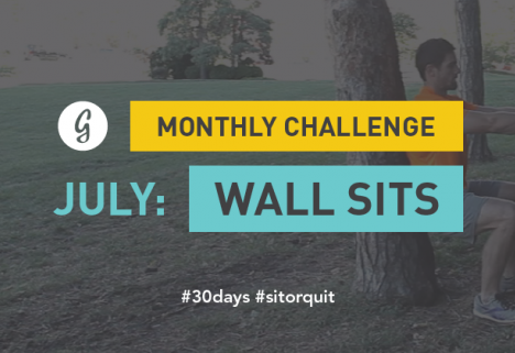 Greatist's 30-Day Wall Sit Challenge
