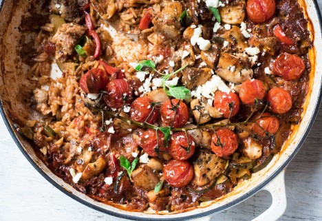 One-Pot Chicken Dinners