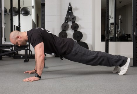 Upper Body Moves When You Can't Do A Pull-Up - Plank