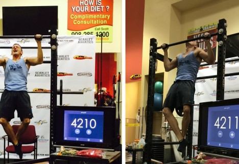 Teacher Breaks World Record for Most Pull-Ups in 24 Hours
