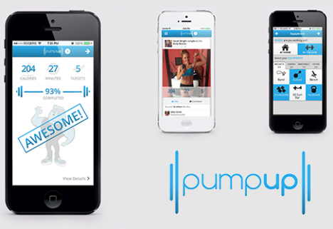 Need a Little Extra Motivation? Try PumpUp 2.0, Complete with a New Fitness Community