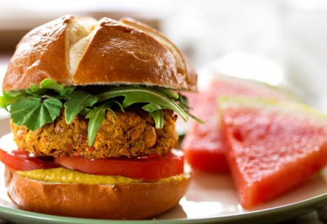 Pumpkin Protein Burgers