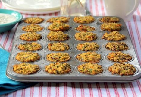 High-Protein Quinoa Muffin Bites