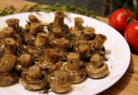Rosemary & Balsamic Baked Mushrooms