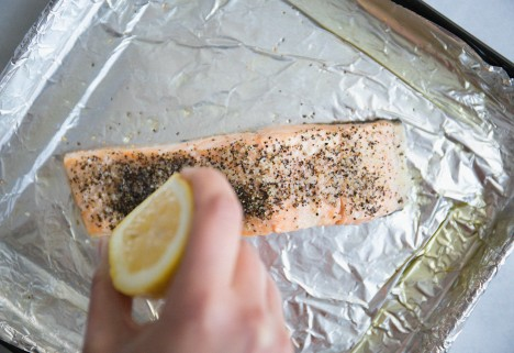Roasted Salmon Feature
