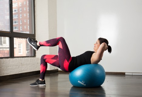 The Best Stability Ball Moves for a Strong Core