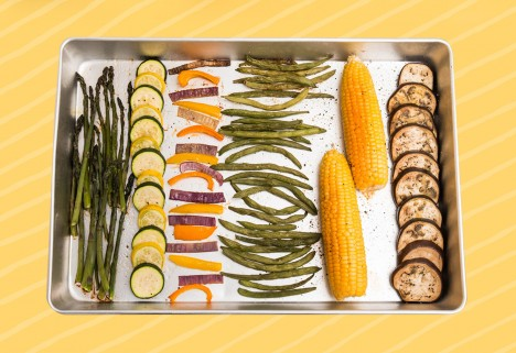 The Best Way to Roast Summer Veggies (Since We Don't All Own a Grill)