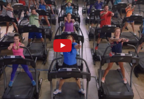 Try and Tell Us the Treadmill Is Boring After Watching This Video