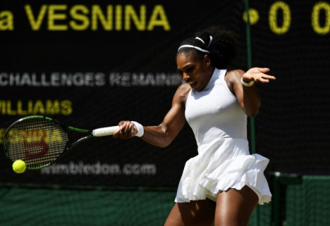 Serena Williams at Wimbeldon