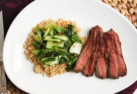Soy-Ginger Flank Steak*