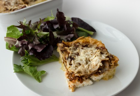 An easy, cheesy dinner for two