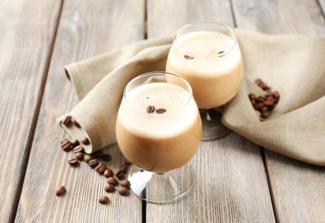 Spiked Coco Coffee Cocktail