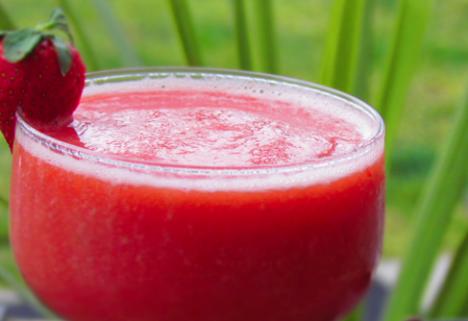 Healthified Strawberry Margarita