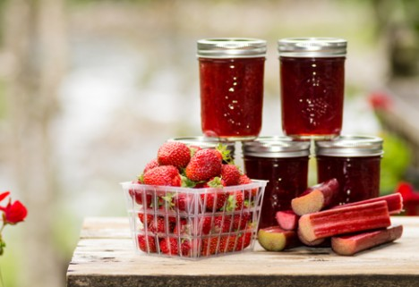 Strawberry Rhubarb Jam*