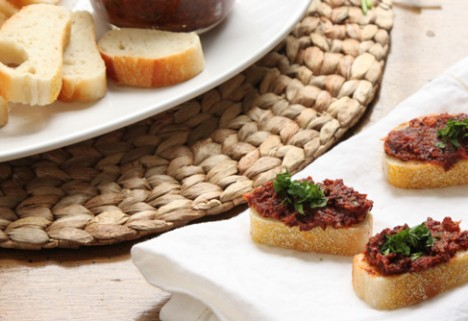 Sun-Dried Tomato Tapenade*