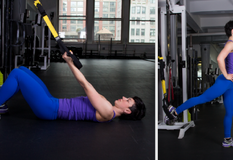 TRX Workout: 5 Simple Moves to Challenge Your Whole Body