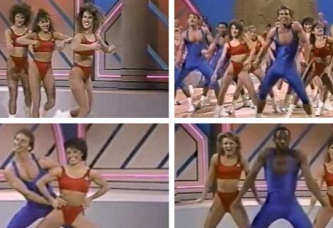 Aerobic Dancers Shake It Off